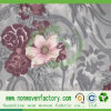 Floral Roses Bty OliveのNonwoven Fabric Printed