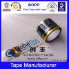 2015 cintas amarillentas del embalaje de la venta caliente BOPP