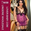 Woman Lingerie Plus Size Sleepwear (P2215-5)