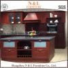 Module de cuisine en bois américain de BBQ de couleur d'acier inoxydable de type de N&L