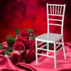 중국 백색 수지 Chiavari 의자 백색 Wedding Chiavari 의자