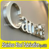 Roestvrij staal Metal 3D Channel Letter Sign voor Advertizing
