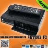 Skybox F3 HD PVR 1080P 가득 차있는 HD DVB S2 MPEG4 인공 위성 수신 장치