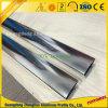 Profili di alluminio Polished brillanti per la decorazione di qualità superiore delle mobilie