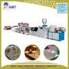 Panneau de marbre d'imitation rigide de PVC/chaîne production en plastique de feuille