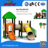 Kind-Baum-Haus-Serien-im Freien Handelsspielplatz-Gerät mit rostfreiem Plättchen