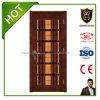 販売のための火の評価される木のドアの内部の木製のドア