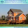 Casa de campo de aço clara de madeira do material de construção