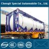 40FT ISOのオイルタンクの容器20FTの液体化学薬品または燃料タンクの容器