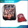 Le cordon imperméable à l'eau folâtre le sac extérieur de sac à dos de gymnastique de course (M-NF29F14030)