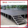 Etapa de la alfombra/diseño de la etapa del partido/plataforma superficiales de la etapa ajustable