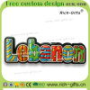 Ricordo ecologico personalizzato Libano (RC-LB) dei magneti del frigorifero dei regali della decorazione di disegno