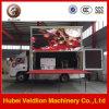 Baixo preço do caminhão ao ar livre móvel do quadro de avisos do diodo emissor de luz do caminhão P10