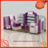 Unidades cosméticas del soporte de visualización del MDF para el departamento