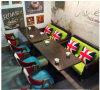 Conjunto de sofá de mesa do clube de música do Reino Unido