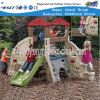 Matériel en plastique extérieur de cour de jeu d'enfants de petite maison de théâtre (HF-20512)