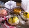 Mond-Kuchen-Blasen-Tellersegment