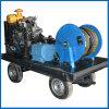 Equipo profesional de alta presión de la limpieza del tubo de desagüe del jet de agua del arenador
