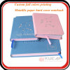 Progettare il vostro proprio taccuino con il grippaggio di Sewing&Glue