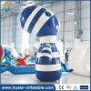 Heißer Verkaufs-aufblasbares Karikatur-Modell, aufblasbare Zebra-Dekoration für Adversiting