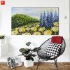 El crisantemo del impresionismo florece el arte Pianting con el marco