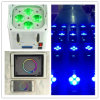 WiFi intelligentes Telefon-batteriebetriebener Radioapparat DMX LED beleuchtet UV 4*18W RGBWA