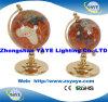 Globo educativo di vendita calda di Yaye, globi della pietra preziosa, globi del mondo, indicatore luminoso di natale, regalo decorativo