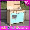 Причудливый деревянный комплект кухни игрушки, деревянный комплект игрушки кухни, деревянная кухня для детей, игрушка игрушки деревянной кухни установленная для младенца W10c176