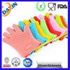 2015 теплостойкGp перчаток BBQ силикона варя перчатки печи