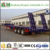 De lage Semi Aanhangwagen van de Vrachtwagen van het Bed