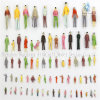 (일반) 100 X Different Scaled Plastic Color Figures