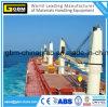 grue marine de paquet de bateau de cargaison hydraulique de 10t 20m