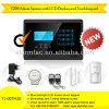 Многофункциональный беспроволочный сигнал тревоги GSM домашней обеспеченностью с кнопочной панелью касания LCD и APP--Yl-007m2e