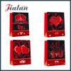 Оптовые продажи конструкции праздника Valentine дешевые подгоняют мешок напечатанный 4c бумажный