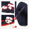 (LKN14023) Promotional Winter Knitted Beanie Hats com Earflaps