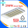 Straßenlaternedes Cer-PSE RoHS anerkanntes 250W der Leistungs-LED