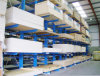 Cremalheira Cantilever resistente do braço do dobro do armazenamento do armazém para o armazenamento longo do artigo