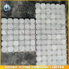 Carrara 백색 대리석 육각형 모자이크 타일