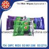 Wipes дезинфектанта, противобактериологические намочили Wipe, Wipes Santized влажные