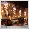 Luz de rua decorativa ao ar livre do Natal do diodo emissor de luz Pólo da classe comercial