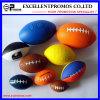 선전용 주문을 받아서 만들어진 고품질 다채로운 PU 축구 공 (EP-P58310)