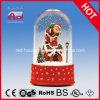 Sneeuw Globe met de Kerstman en Snow Flakes Inside
