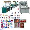 機械を作る熱い販売自動PVCラベルのゴム製パッチ