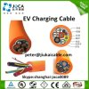 Cable del vehículo eléctrico EV con el cargador de batería