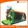 Combo plein d'entrain gonflable de château avec les jouets animaux (T3-255)