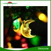 30LED屋外、庭、ホーム、結婚式、クリスマス・パーティおよび休日の月によって形づけられる太陽妖精ストリングライトクリスマスの照明