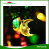 30LED 달 옥외, 정원, 홈, 결혼식, 크리스마스 파티 및 휴일 동안 모양 태양 요전같은 끈 빛 크리스마스 불빛