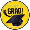 Placa de papel de la cena disponible del graduado de Congrats