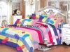 クイーンサイズの多または綿の物質的な寝具の一定の製造の卸売の使い捨て可能なシーツ