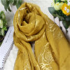 Hot Stamping Gold Color for Accessory Scarf